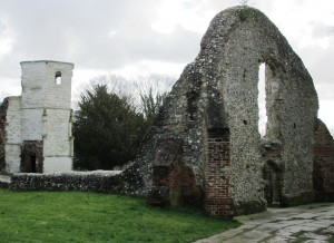 Ruins of Holy Ghost School and Chapel, Basingstoke